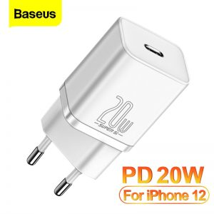 Baseus PD 20W Quick Charge QC3.0 QC USB Type C Fast Charging Charger For iPhone 12 Pro Samsung Xiaomi Wall Mobile Phone Charger